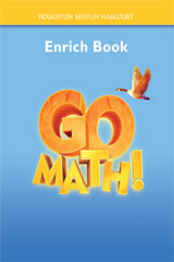 Go Math!  Enrich Workbook Student Edition, Grade 4-9780547392196