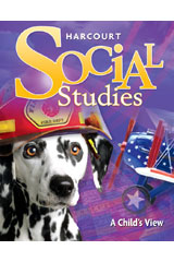 Harcourt Social Studies 6 Year Online Interactive Presentations Grade 1 A Child's View-9780547415246