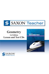 Saxon Geometry Homeschool  Saxon Teacher CD ROM 1st Edition-9780547442563