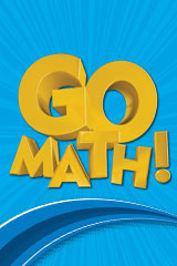 Go Math! 1 Year Student Edition and Practice Book Bundle Grade 1-9780547444222