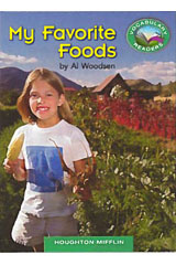 Journeys Vocabulary Readers  Individual Titles Set (6 copies each) Level D My Favorite Foods-9780547445632