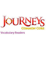 Journeys Vocabulary Readers  Individual Titles Set (6 copies each) Level B At the Beach-9780547446219