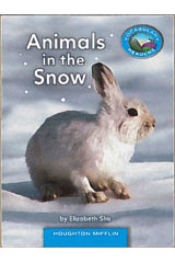 Journeys Vocabulary Readers  Individual Titles Set (6 copies each) Level B Animals in the Snow-9780547446356