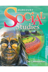 Harcourt Social Studies  Student Edition Print and CDROM Bundle Grade 3 Our Communities-9780547449364