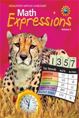 Math Expressions  Student Activity Book (Consumable), Volume 2 Grade 5-9780547473338