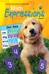 Math Expressions  Student Activity Book (Consumable), Volume 1 Grade K-9780547473673