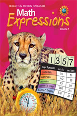 Math Expressions  Student Activity Book (Consumable), Volume 1 Grade 5-9780547473925