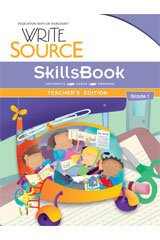 Write Source  SkillsBook Teacher's Edition Grade 1-9780547484358