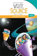 Write Source  Teacher's Edition Grade 6-9780547484495