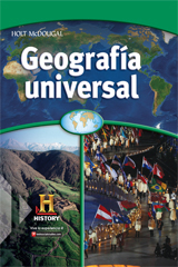 World Geography  Student Edition, Spanish Survey-9780547484754