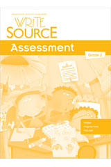 Write Source  Assessment Teacher's Edition Grade 2-9780547484914