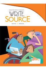 Write Source  Student Edition Hardcover Grade 11-9780547485102