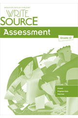 Write Source  Assessment Teacher's Edition Grade 12-9780547485188