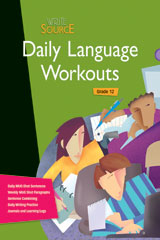 Write Source  Daily Language Workouts Grade 12-9780547485249