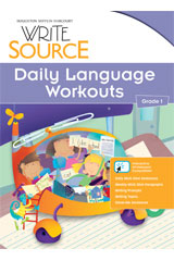 Write Source  Daily Language Workouts Grade 1-9780547485256