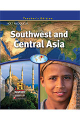 Southwest and Central Asia  Teacher's Edition-9780547485904