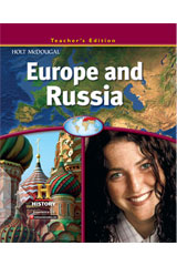 World Regions: Europe and Russia  Teacher's Edition-9780547485959