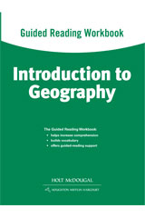 World Regions: Introduction to Geography  Guided Reading Workbook-9780547513126