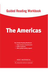 World Regions: The Americas  Guided Reading Workbook-9780547513133
