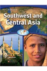 Southwest and Central Asia  Guided Reading Workbook-9780547513157