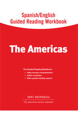 World Regions: The Americas  Spanish/English Guided Reading Workbook-9780547513232
