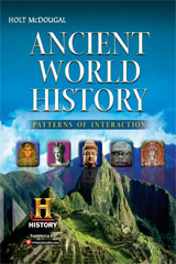 Ancient World History: Patterns of Interaction  Interactive Online, Student Access (6-year subscription)-9780547520735