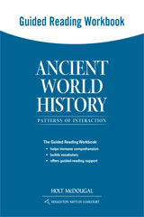 Ancient World History: Patterns of Interaction  Guided Reading Workbook-9780547520841
