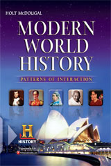 Modern World History: Patterns of Interaction 1 Year Subscription Online Premium Interactive Student Edition-9780547521169