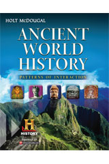 Ancient World History: Patterns of Interaction  Student Edition eTextbook ePub 6-year-9780547521442