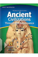 World History: Ancient Civilizations Through the Renaissance  Student Edition eTextbook ePub 6-year-9780547521831