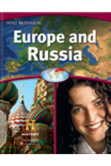 World Regions: Europe and Russia  Student One Stop CD-ROM-9780547535500