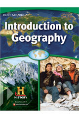 World Regions: Introduction to Geography  Student One Stop CD-ROM-9780547535531