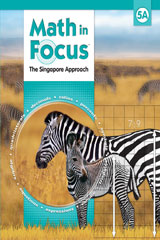 Math in Focus, Grade 5, Extra Practice Books for Both 5A and 5B - Set of 2 Books
