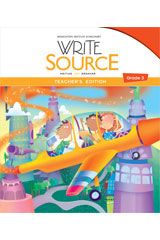Write Source  Teacher's Resource Pack Grade 3-9780547555065