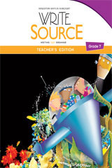 Write Source  Teacher's Resource Pack Grade 7-9780547555126