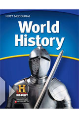 World History  Student Premium Print/Online Package Grades 6-8 Full Survey-9780547557625
