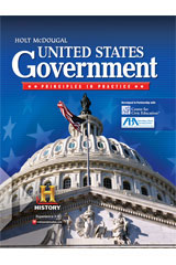 United States Government: Principles in Practice  Student Edition, Class Set of 25-9780547560205