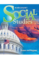 Harcourt Social Studies 1 Year Online Interactive Presentations Grades 4-6/7 States and Regions-9780547575414
