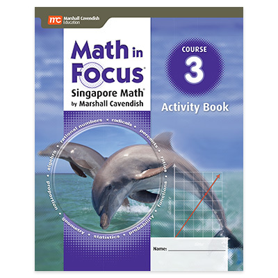 Math in Focus: Singapore Math Activity Book Course 3