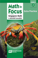 Math in Focus: Singapore Math  Extra Practice, Book A Course 2-9780547579023