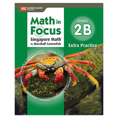 Math in Focus: Singapore Math  Extra Practice Book, Volume B Course 2-9780547579085