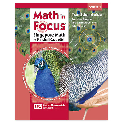 Math in Focus: Singapore Math  Transitions Guide Course 1-9780547579092