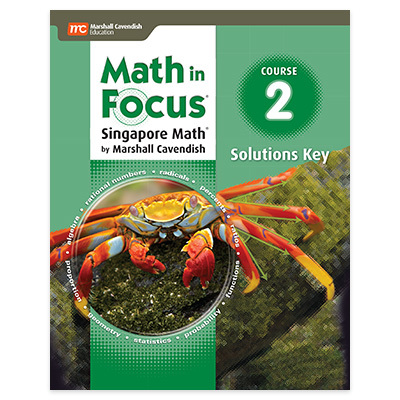 Math in Focus: Singapore Math  Solutions Key Course 2-9780547579115