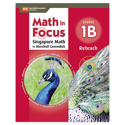 Math in Focus: Singapore Math  Reteach, Book B Course 1-9780547579122