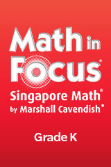 Math in Focus: Singapore Math, Spanish  Student Edition Grade K Book A, Part 1-9780547582368