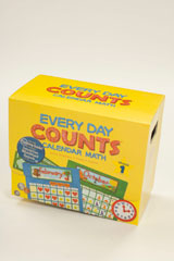 Every Day Counts: Calendar Math Teacher Kit with Planning Guide Grade 1