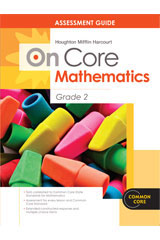 Houghton Mifflin Harcourt Mathematics On Core  Assessment Guide Grade 2-9780547590462