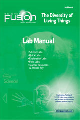 ScienceFusion  Lab Manual Module B  Grades 6-8 Module B: The Diversity of Living Things-9780547592602