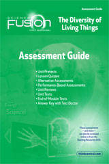ScienceFusion  Assessment Guide Module B  Grades 6-8 Module B: The Diversity of Living Things-9780547593142
