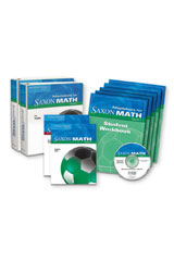 Saxon Math Course 1  Special Ed Classroom Bundle Course 1-9780547608488